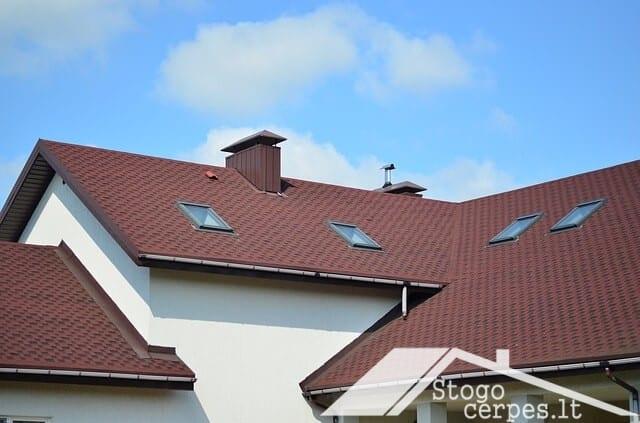 Renkamės stogo dangą: metaliniai stogai
