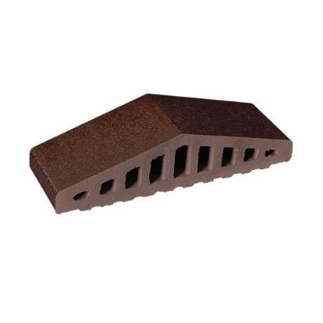 Klinkerio tvoros užbaigimas, rudai glazūruotas King Klinker | 02 Brown-glazed