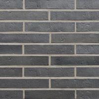 Klinkerio fasadinės plytos anglies spalvos su sidabriniu atspalviu Roben | SYDNEY LDF
