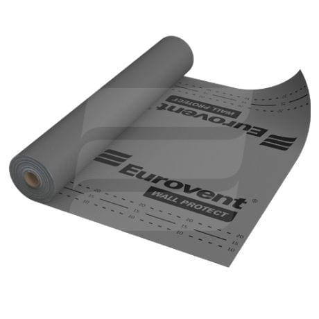 Difuzinės vėjo izolacijos plėvelės Eurovent   WALL PROTECT