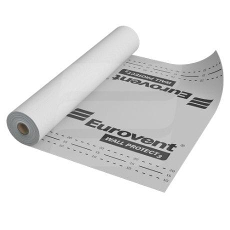 Difuzinės vėjo izolacijos plėvelės Eurovent   WALL PROTECT 3