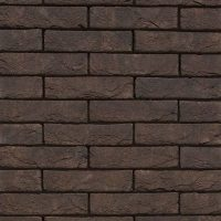 TERCA fasadinės plytos   Nero Zwart Mangaan ECO WF
